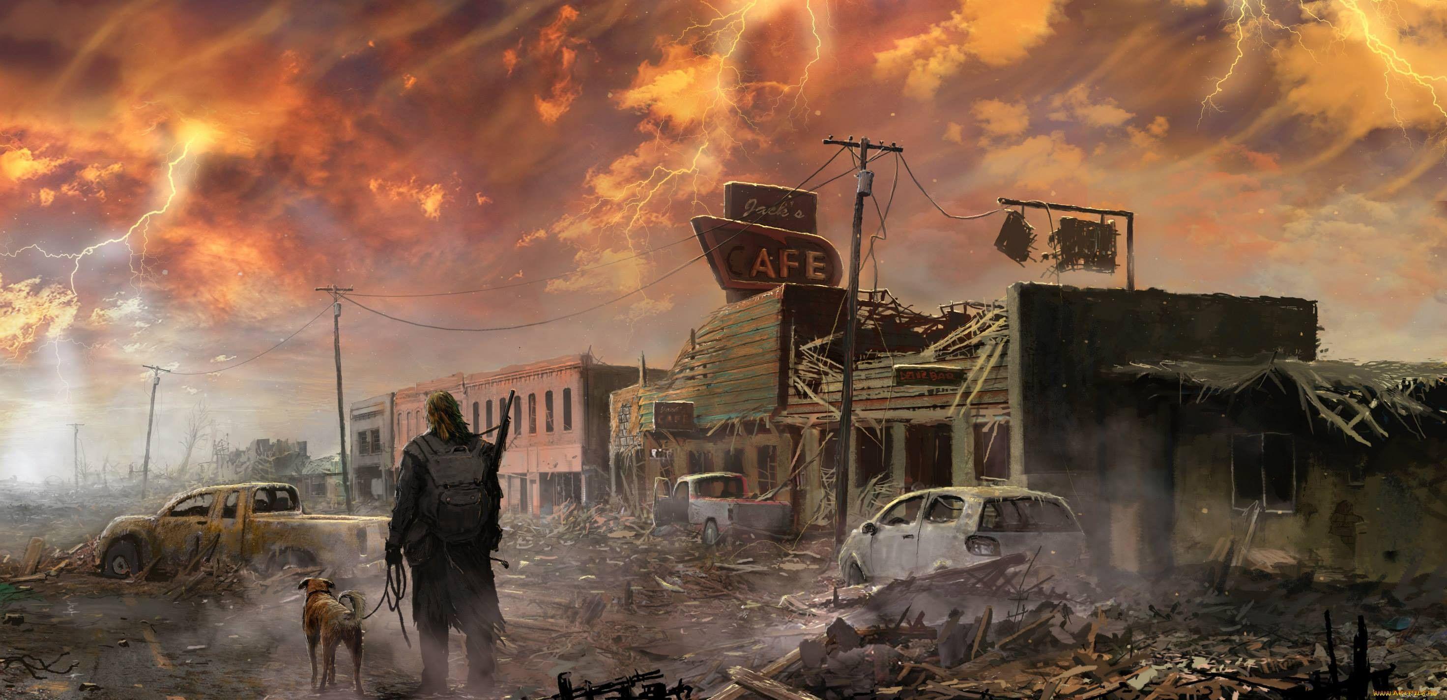 Картинки города зомби апокалипсис для