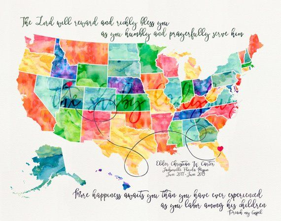 Lds Mission Maps Long Distance Love / Missionary Map | Products | Lds mission maps