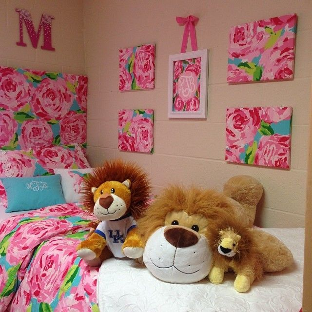 Wonderful Lilly Pulitzer Bedding For Dorm Room | Dorm Rooms | Pinterest