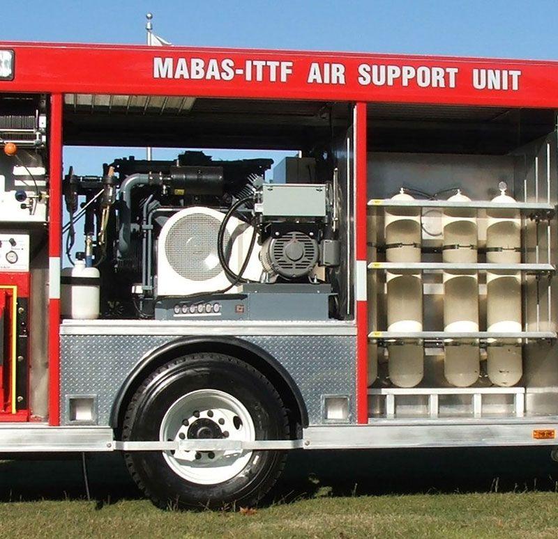 Air compressors emergency vehicles vehicles emergency
