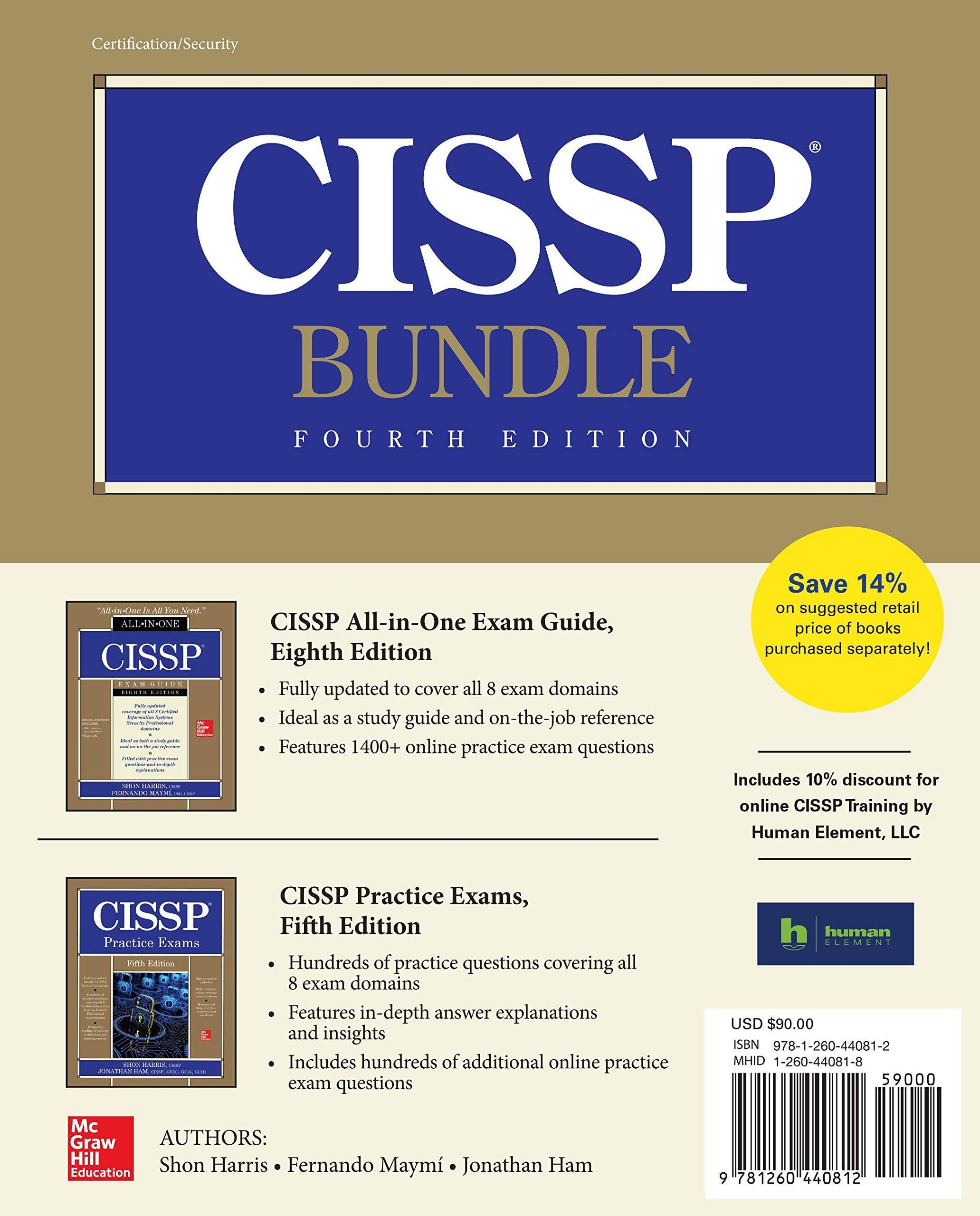 CISSP Bundle, Fourth Edition Paperback – December 27, 2018