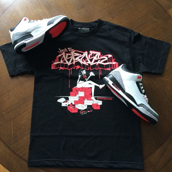 best value eda46 76685 Shirt to match Infrared Jordan 3s | Effectus Clothing Blog ...