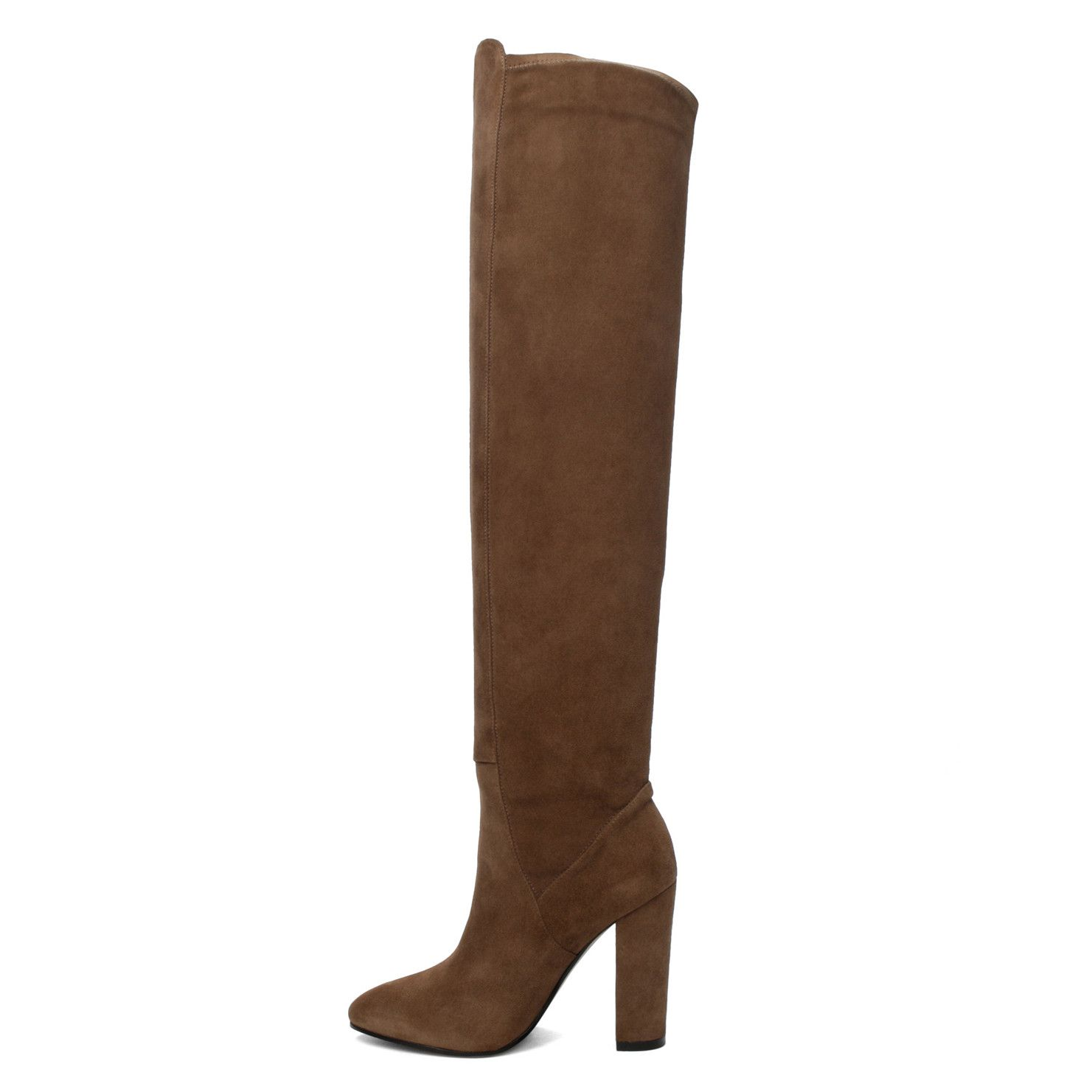 Antella Taupe Women's Over-the-knee boots