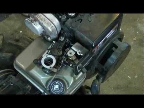 Choke Throttle Governor Linkage Configuration On Briggs Stratton 4 5hp Engines Briggs Stratton Lawn Mower Repair Stratton