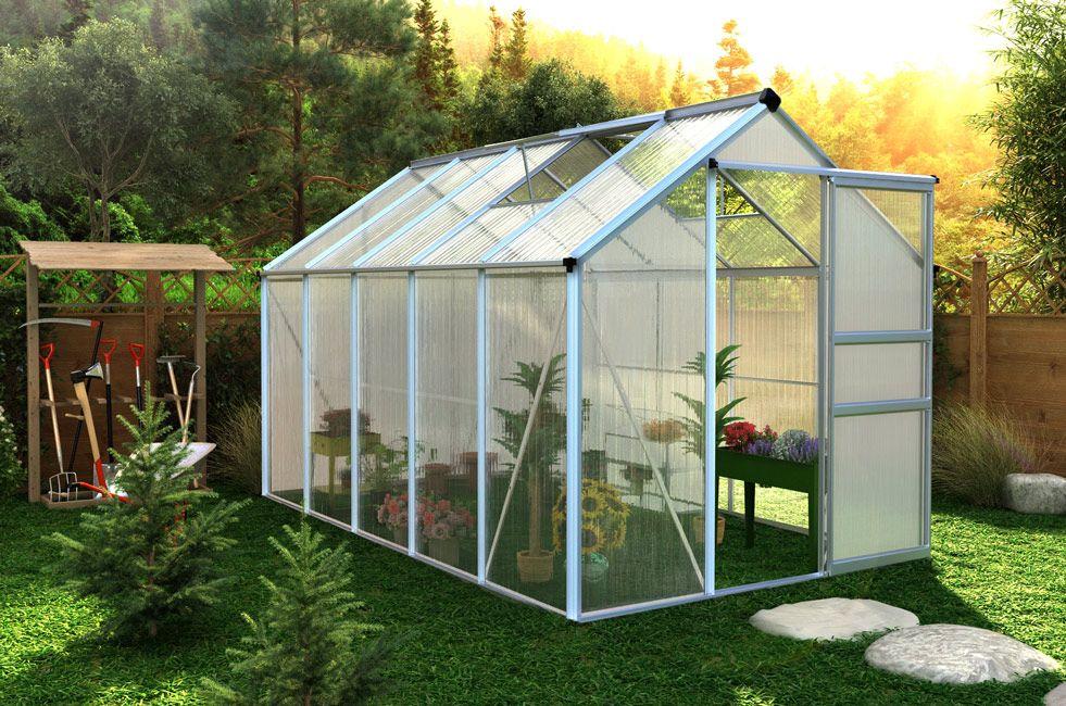 Serre De Jardin Polycarbonate 6m Serre Jardin Serre De Jardin Polycarbonate Polycarbonate