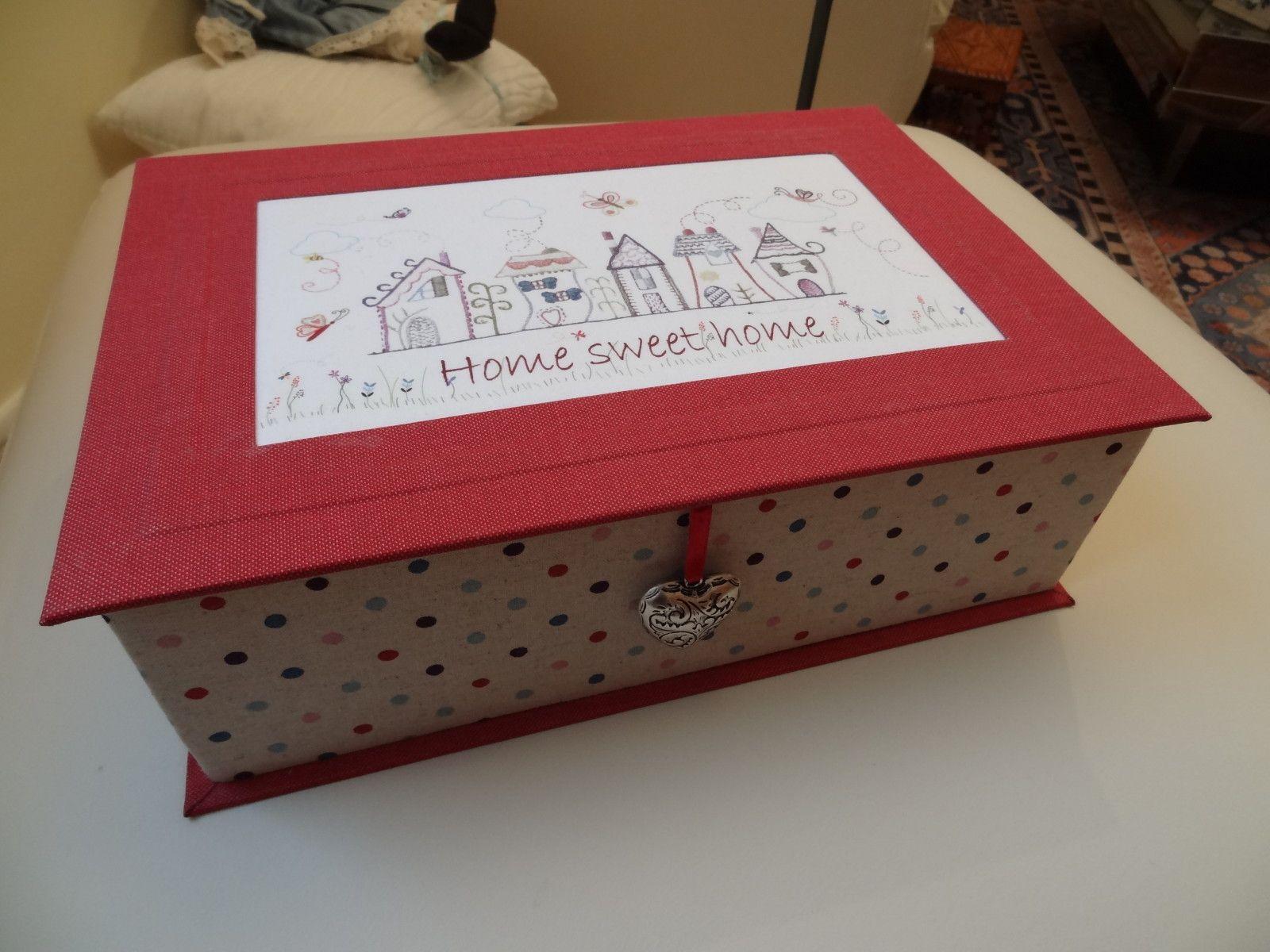 Cartonnage de l 39 atelier des copines le blog de catherine for La redoute boite a couture