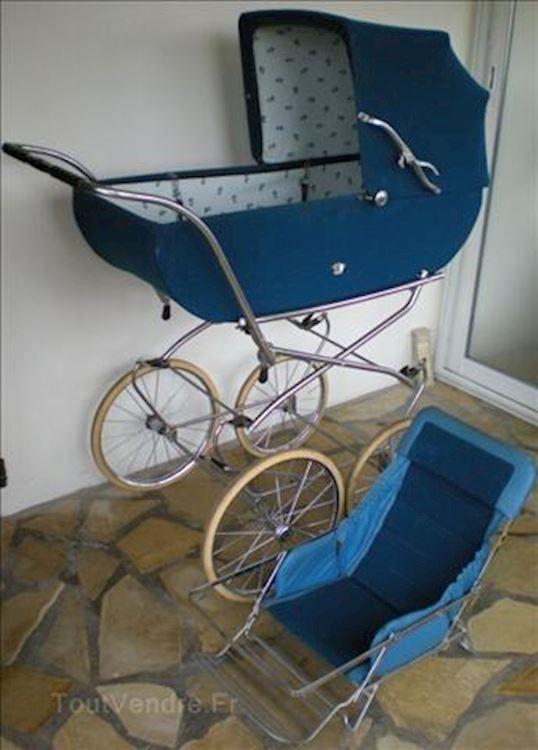 landau bébé vintage