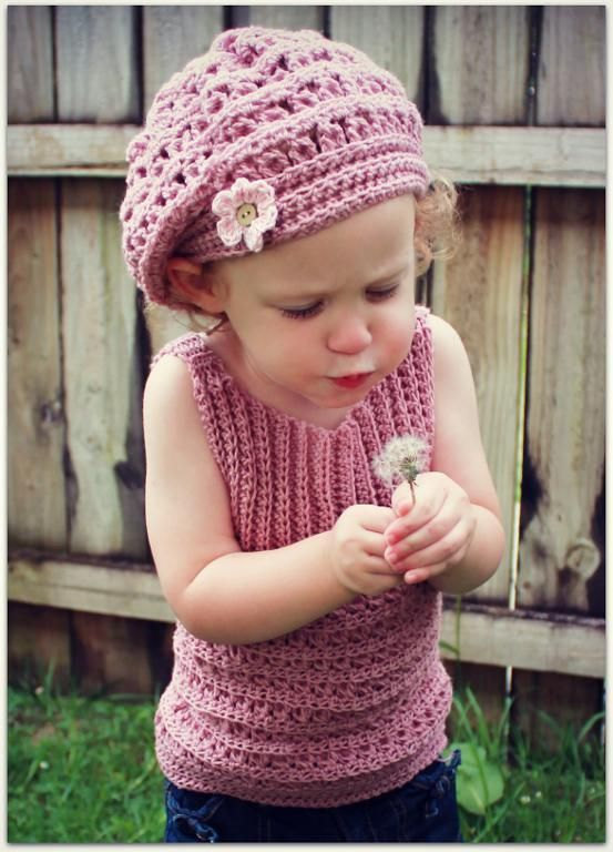 Maddie's Mia Beret. http://www.craftsy.com/pattern/crocheting/accessory/mia-beret/36938
