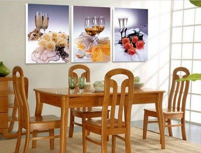Cuadros para decorar comedores peque os habitaciones for Comedores pequenos y bonitos