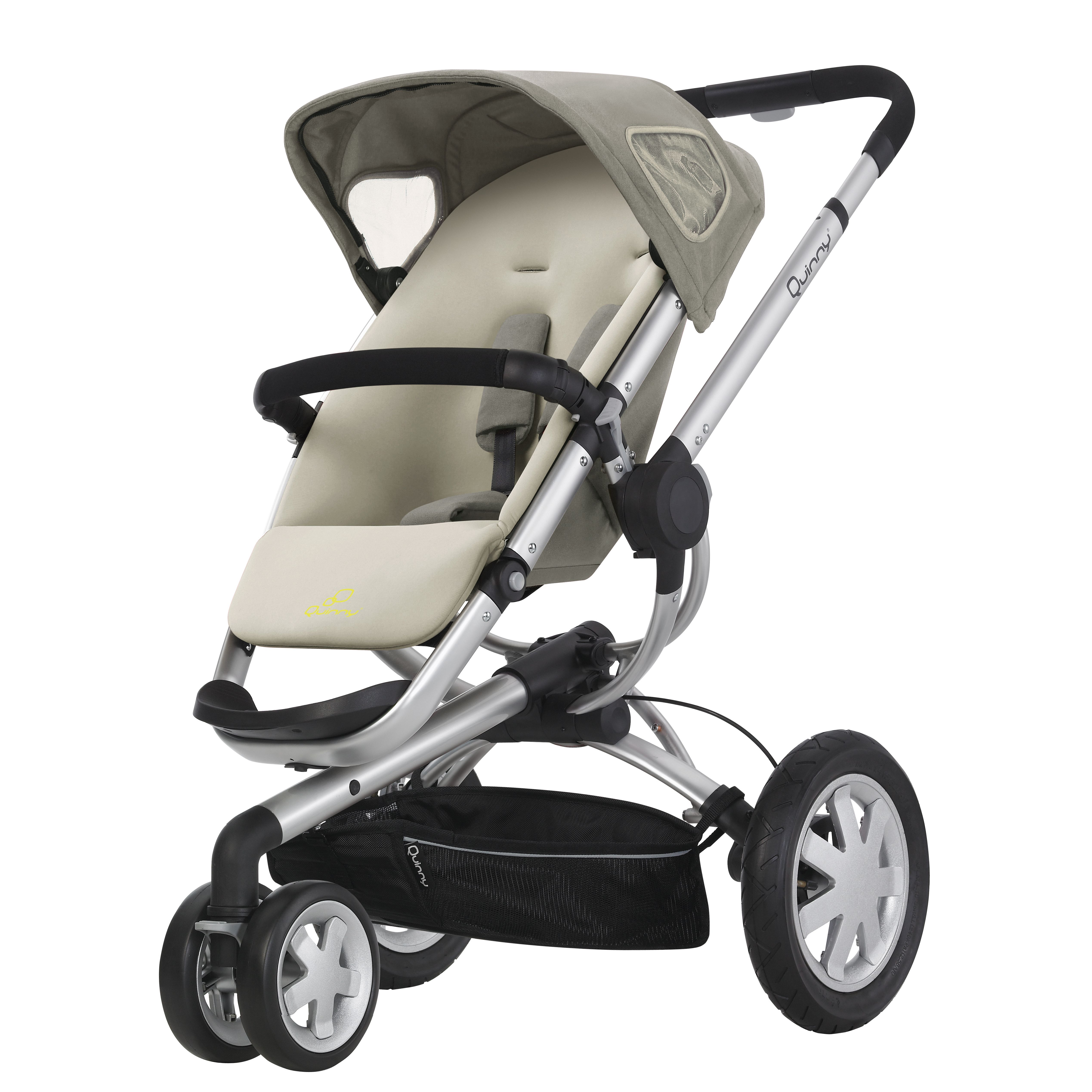 The Quinny Buzz is an innovative and safe stroller set for your baby