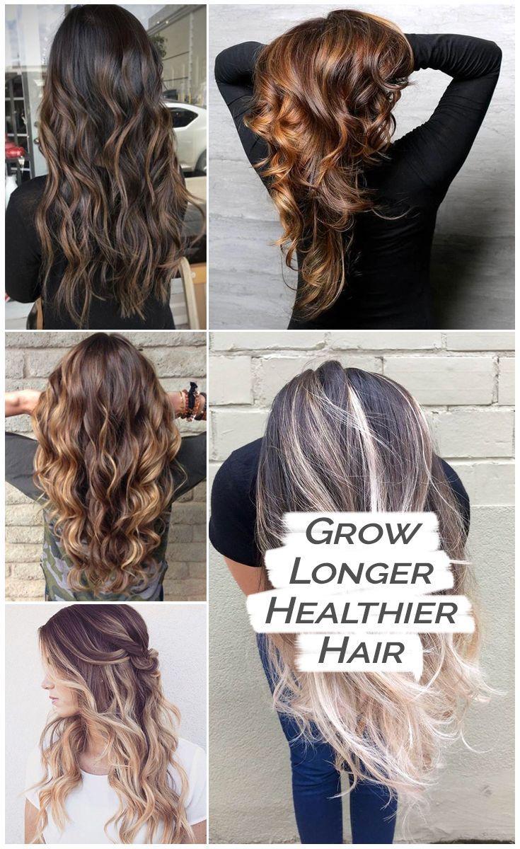 Simple method to naturally grow beautiful long hair