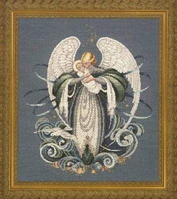Angel of the Sea by Lavender and Lace - Cross Stitch Kits & Patterns