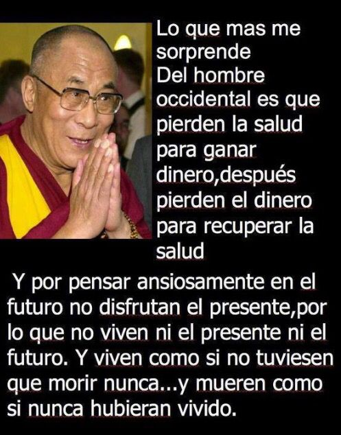 Dalai Lama dice
