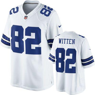 white cowboys jersey