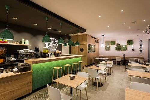 El Taller Cafeteria Standal Diseno De Interiores Standales - Diseo-cafeterias-modernas