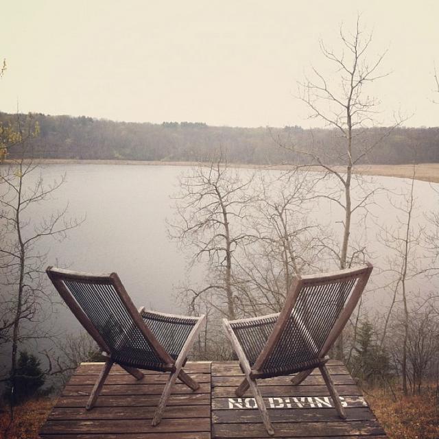 I could so move here.  Camp Wandawega.