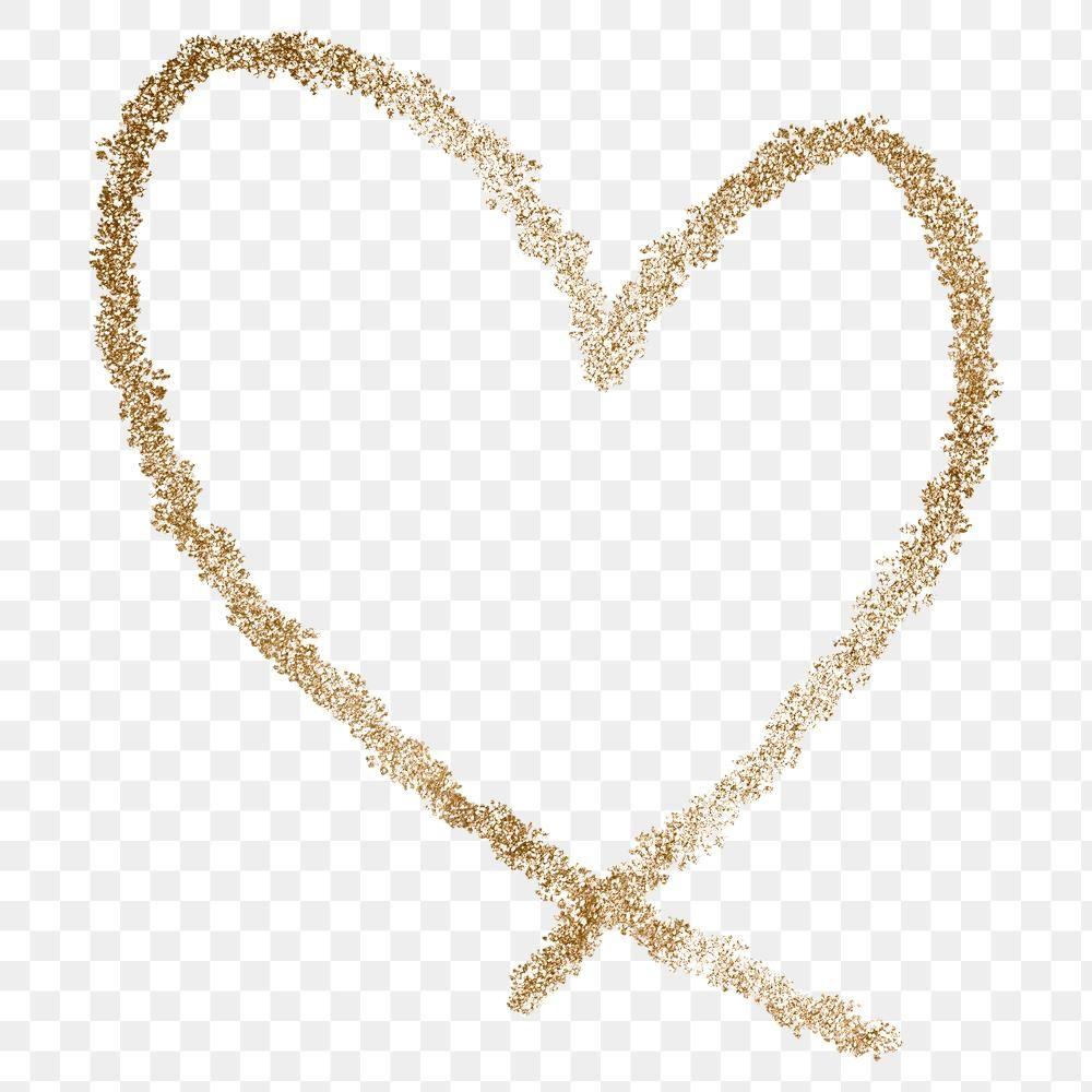 Png Gold Glitter Heart Element Free Image By Rawpixel Com Adjima In 2021 Gold Glitter Heart Glitter Hearts Gold Glitter