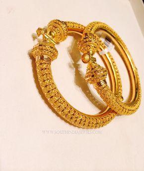 Gold Adjustable Screw Bangles Gold bangles Bangle and Models