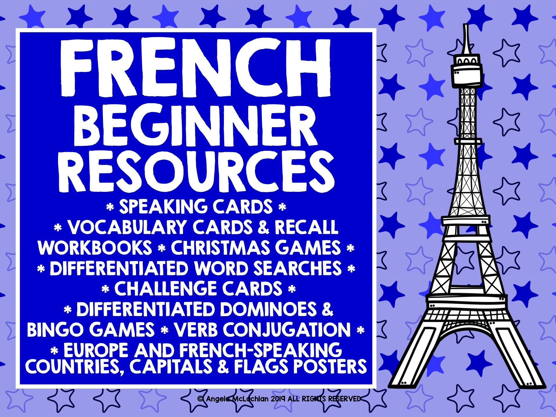 Year 7 French Primary French Elementary French Beginner