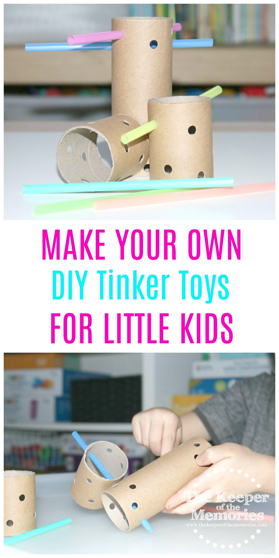 DIY Tinker Toys Investigation Station for Little Kids ...