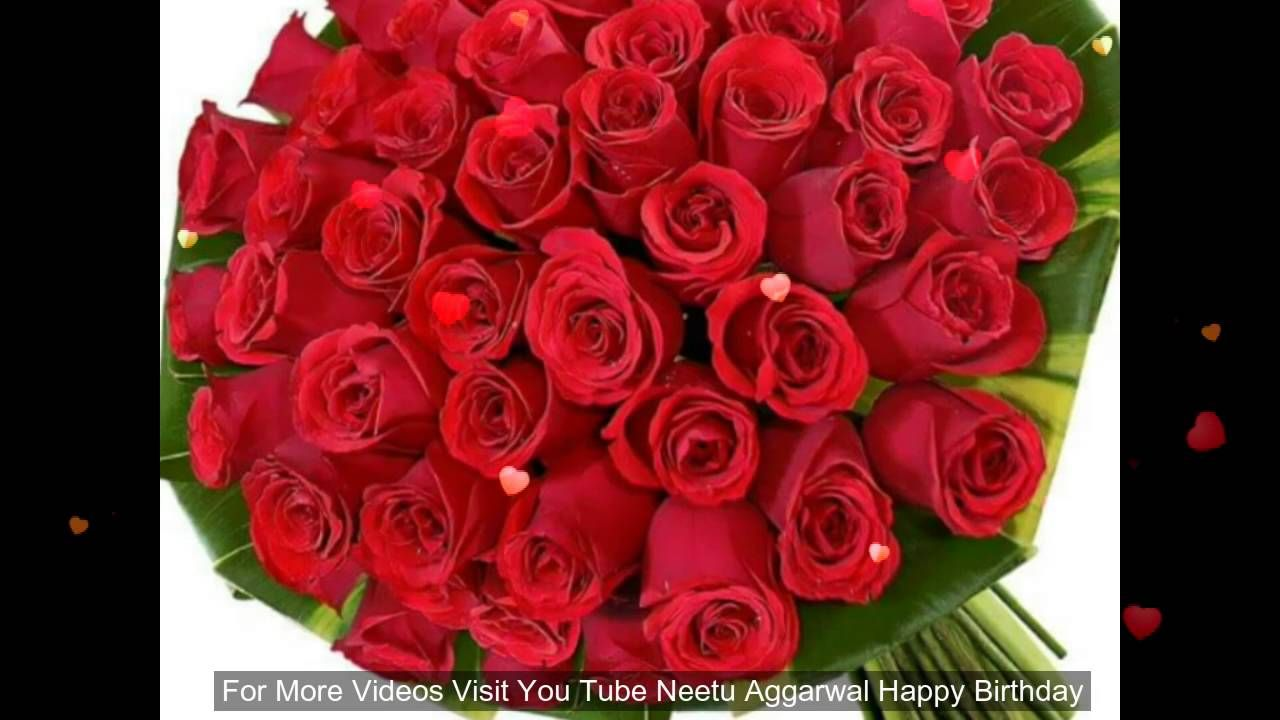 Happy Birthday Wishes Greetings Blessings Prayers Quotes Sms Happy Birth Beautiful Flowers Pictures Red Rose Pictures Beautiful Flowers