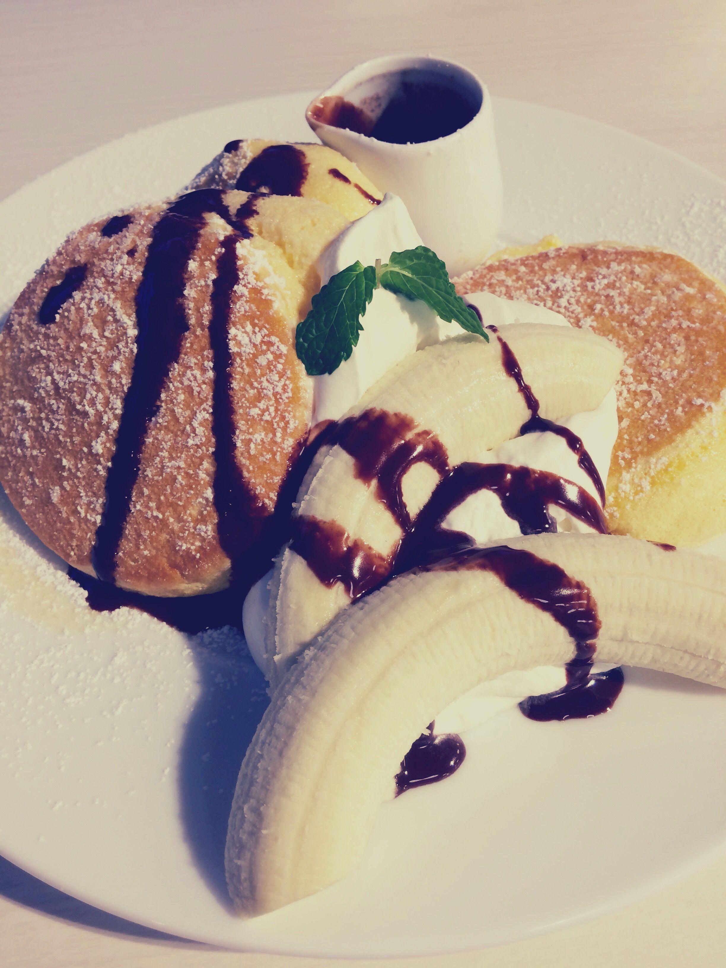 2016.11.21 GCT検査 幸せのパンケーキのバナナチョコパンケーキ
