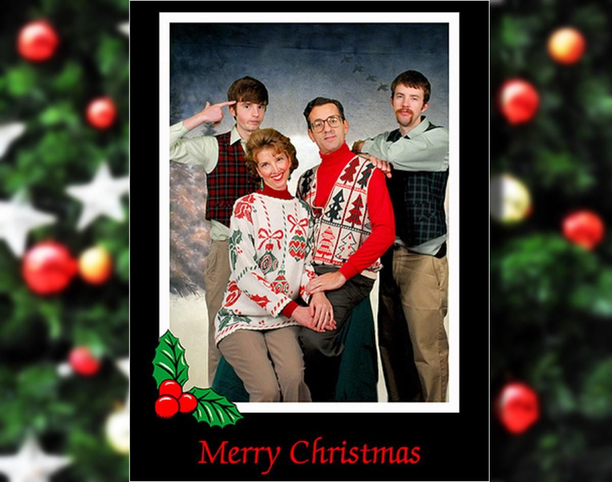 Bad family Christmas photos - Photos - Bad family Christmas photos ...