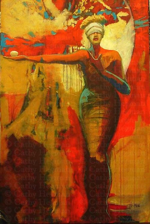 Cathy Hegman Contemporary Artist Figurative Painting