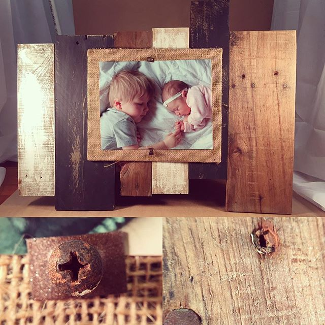 Design Your Own Frame 8x10 Rustic Pallet Picture Frame Choose