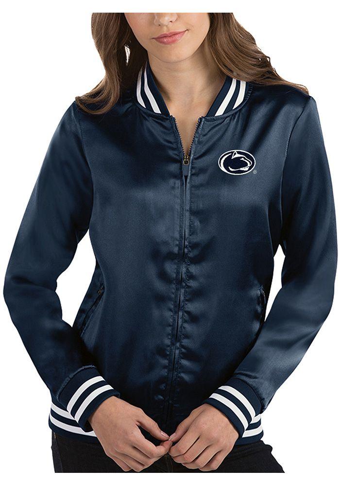 ae1a53a97 Antigua Penn State Nittany Lions Womens Navy Blue Strut Long Sleeve ...