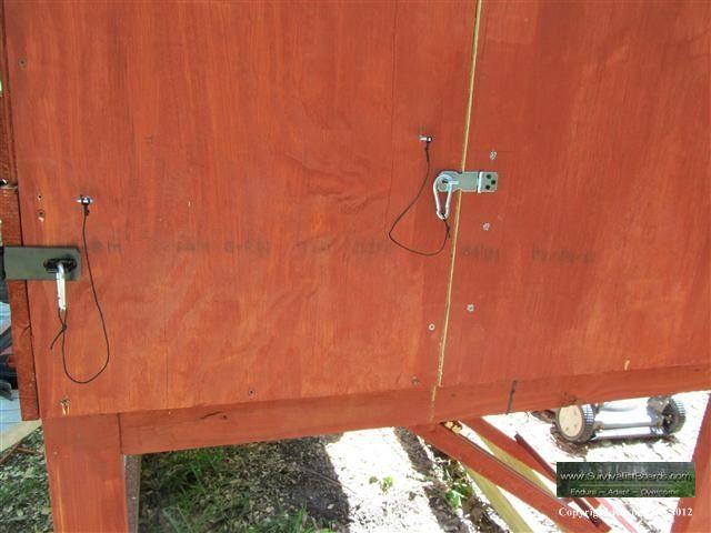 Carabiner On Chicken Coop Door Chicken Coop Coop Carabiner