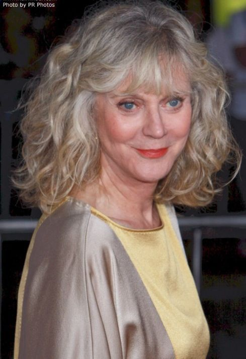 Age Is But A Number Blythe Danner Hair Today Gone Tomorrow Curly Silver Hair