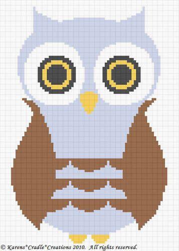 Crochet Patterns Owl Baby Boy Afghan Pattern Easy Afghan