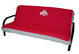 Ohio State Counch College Team Logo Futon Covers Microsuede
