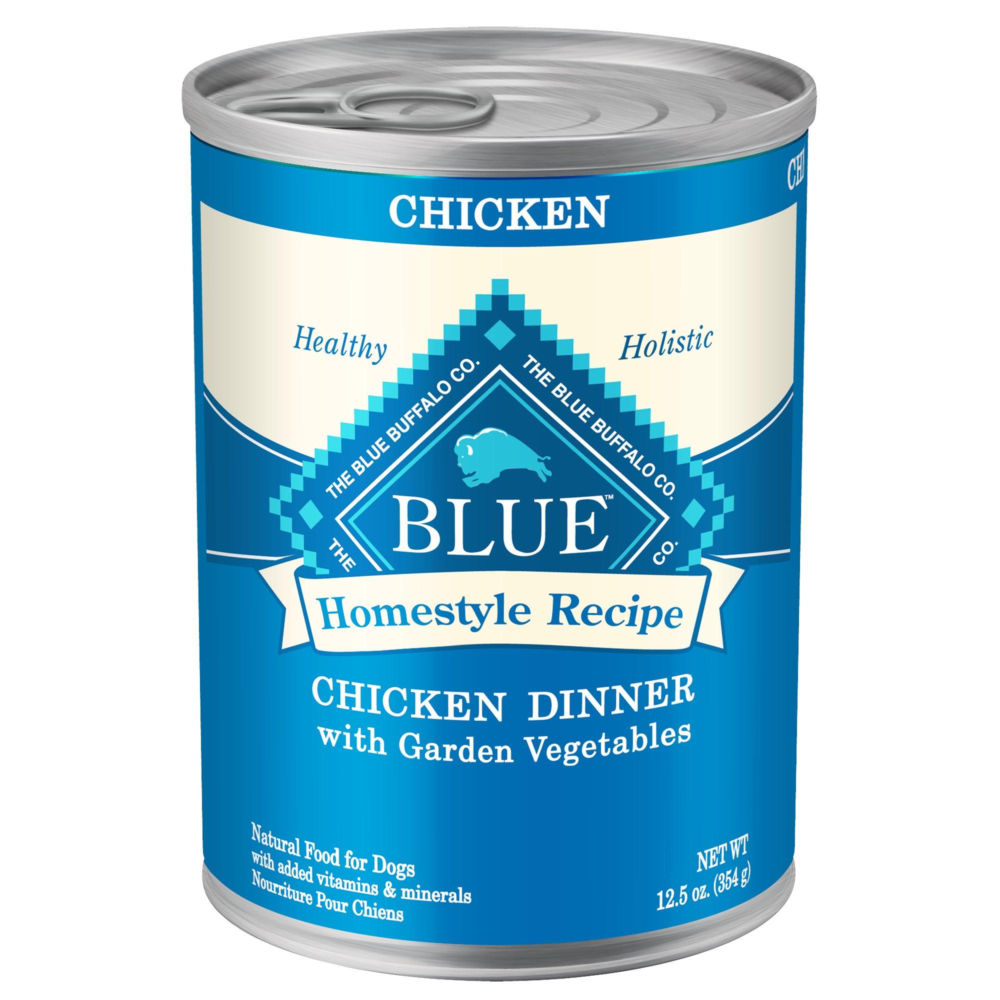 Blue Buffalo Blue Homestyle Recipe Chicken Dinner With Garden