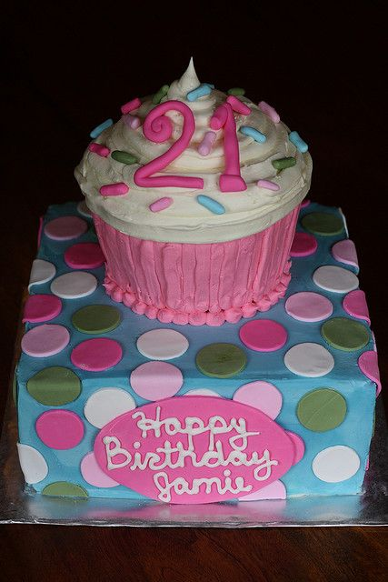 21st Birthday Cake! | Flickr - Photo Sharing!