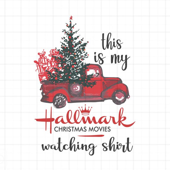 Hallmark Christmas Shirt Svg.This Is My Hallmark Christmas Movie Watching Svg Christmas