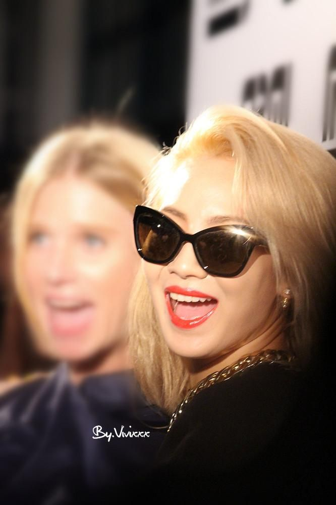 2NE1's CL at Marc by Marc Jacobs Brand Party