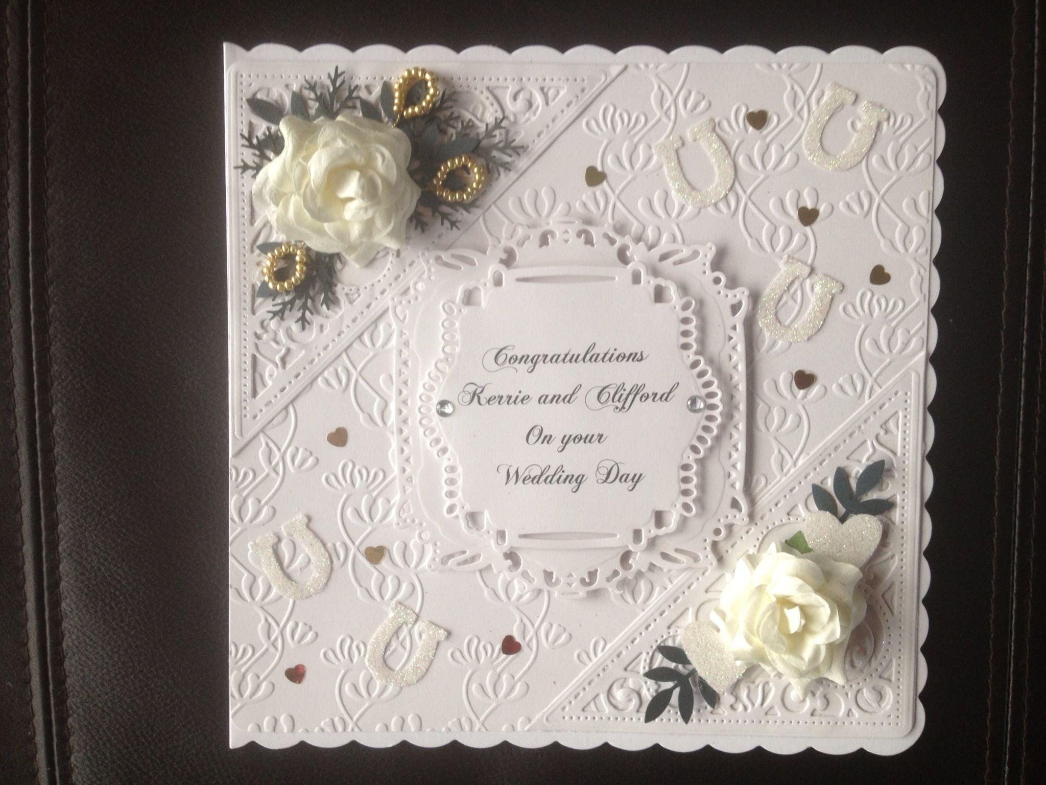 Spellbinders wedding card cartes mariage wedding cards spellbinders wedding card stopboris Images