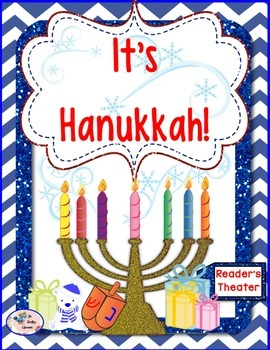 Hanukkah Reader's Theater - It's HanukkahHave fun this winter with a fun reader's theater!  Great for in the classroom, at home, or as a Hanukkah gift!This readers theater story is 4 pages long.  It can be used for Daily 5, fluency practice, and English Language Arts activities/centers.