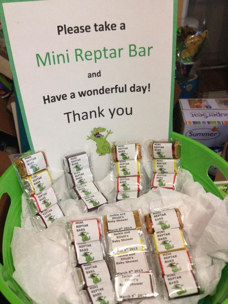 Rugrats Baby Shower Theme Baby Shower Reptar Bars Shower