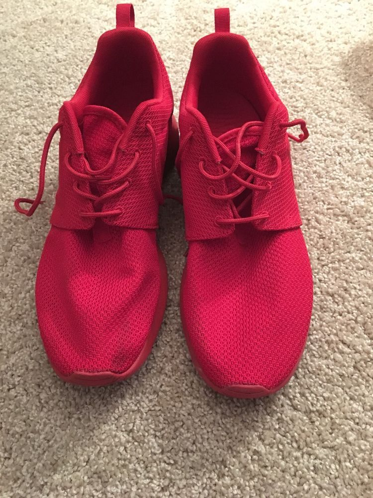 1eda7bd4cd ... discount code for nike roshe run triple red size 10 varsity red varsity  red fashion clothing
