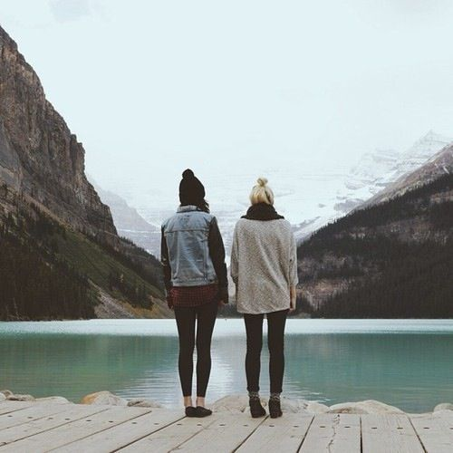 Image result for lake friends tumblr