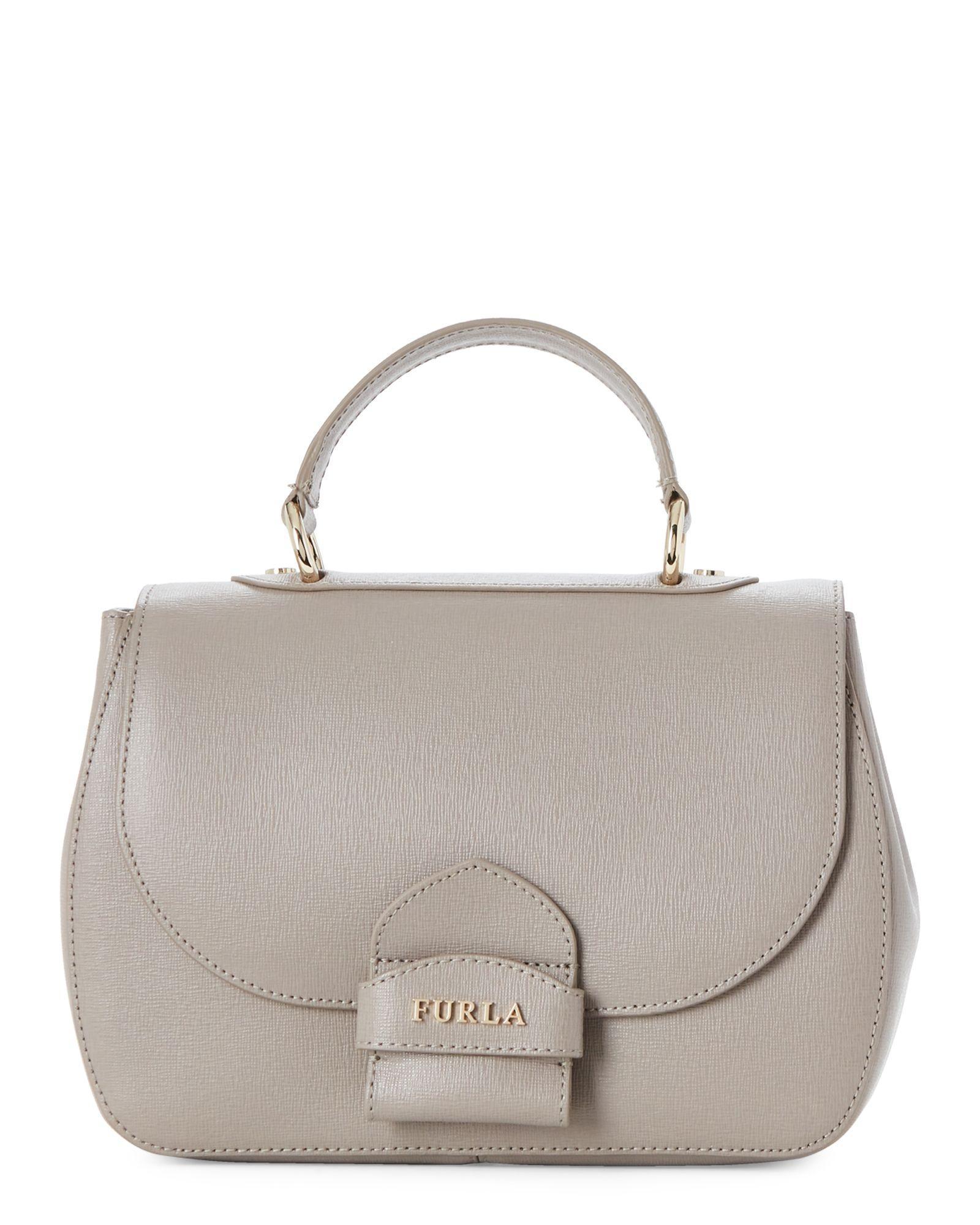 3096b5a4f6 Sabbia Coral Saffiano Leather Small Top Handle Bag | *Apparel ...