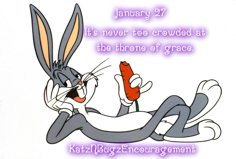 January 27 Positive Thoughts | Bugs bunny, Bug cartoon ...