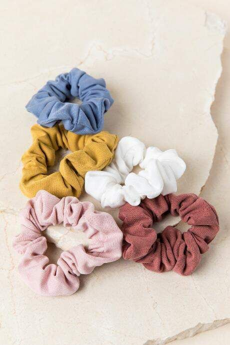 francesca s Arleen Scrunchie Set - Multi  83324140f53