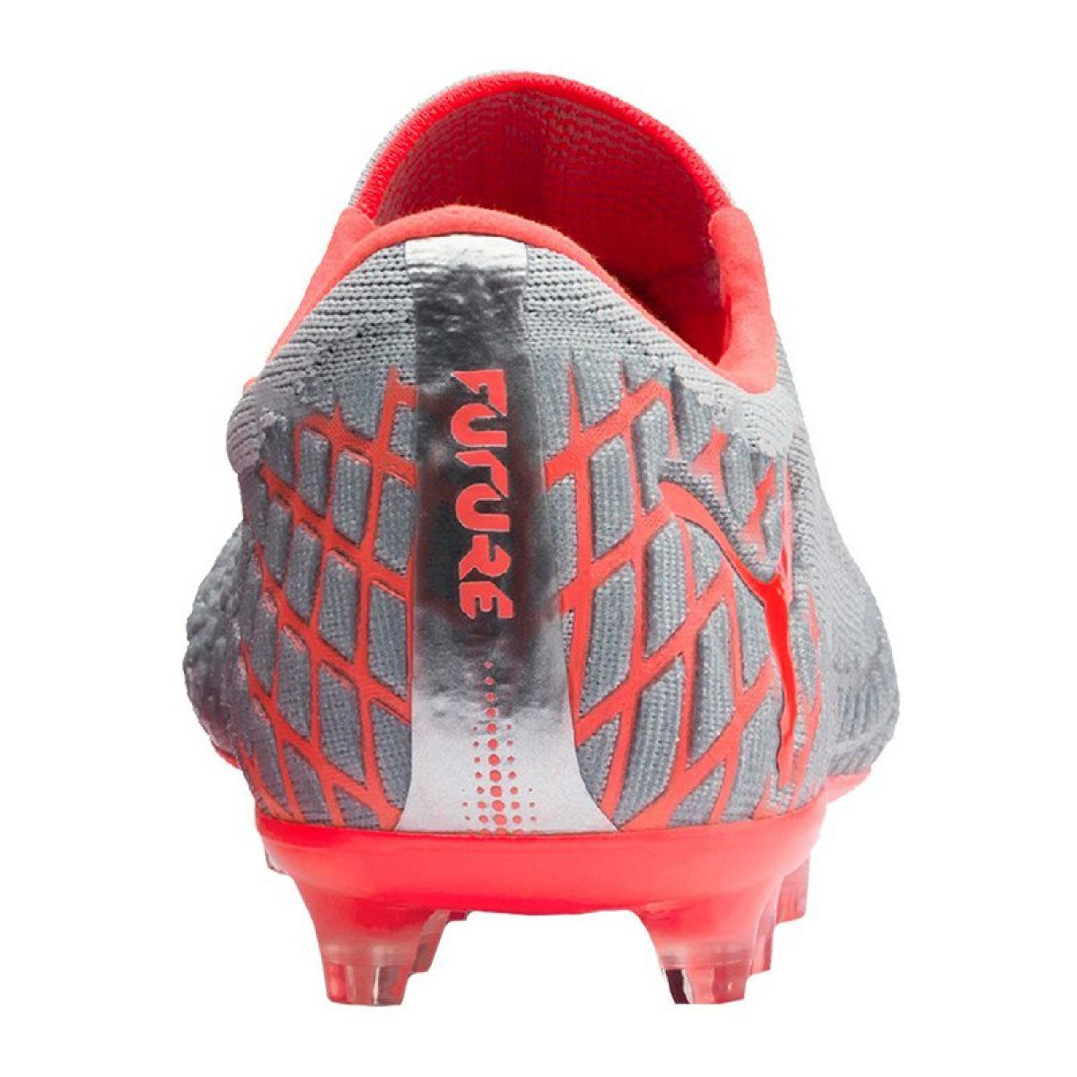 Football Boots Puma Future 4 1 Netfit Low Fg Ag M 105730 01 Grey Multicolored Football Boots Football Shoes Boots