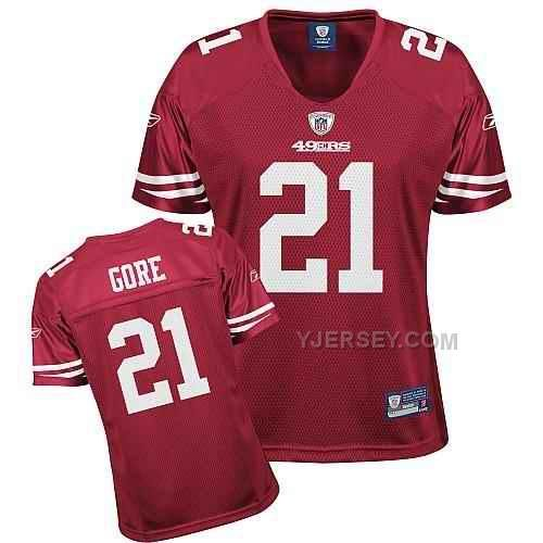 http   www.yjersey.com 49ers-21-gore-. Frank GoreRed TeamFree ShippingColorFootball  ... 1cd6cdf10