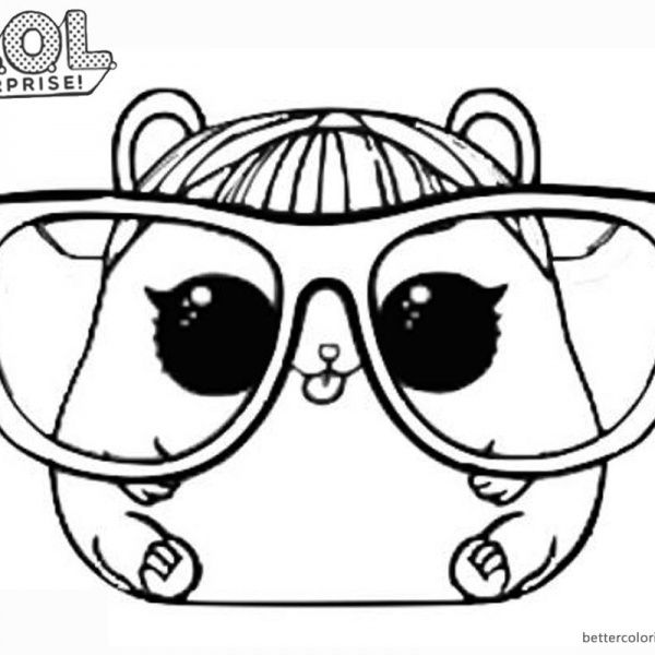 Cherry And Touchdown Lol Surprise Coloring Page Copy Barbie Coloring Pages Kids Printable Coloring Pages Cute Coloring Pages