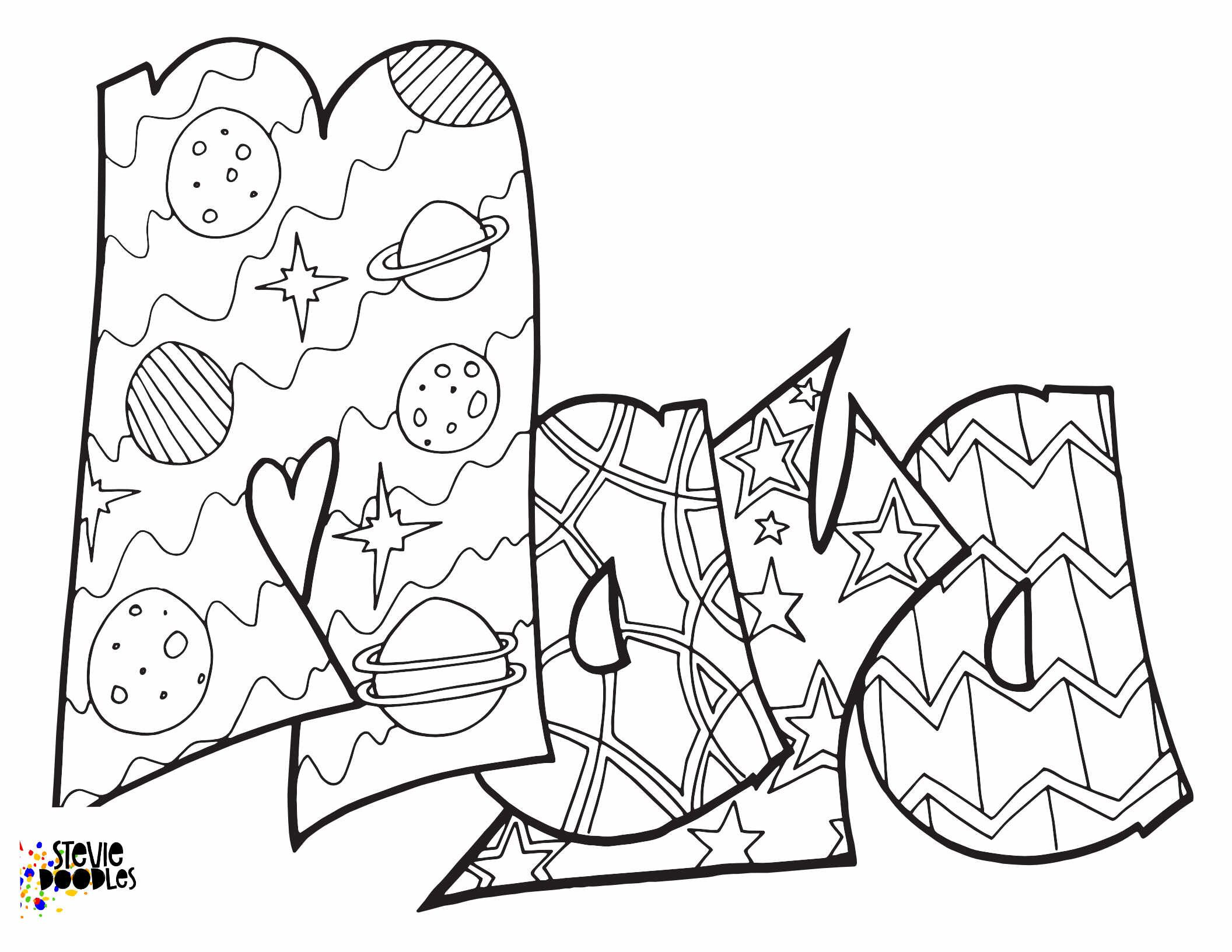 Free Coloring Pages Stevie Doodles Coloring Pages Name Coloring Pages Free Coloring Pages